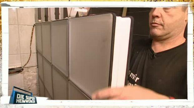 Die Super-Heimwerker - Video - Profi-Tipps: Wand aus Glasbausteinen ...