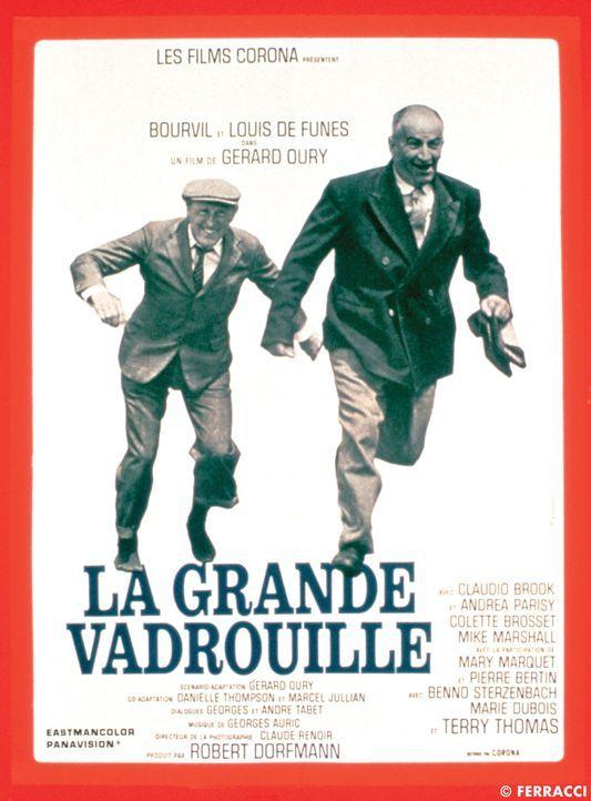 Stanislas Lefort (Louis de Funès, r.) und Augustin Bouvet (André Bourvil, l.) greaten von einer turbulenten Situation in die nächste ... - Bildquelle: Tobis Filmkunst
