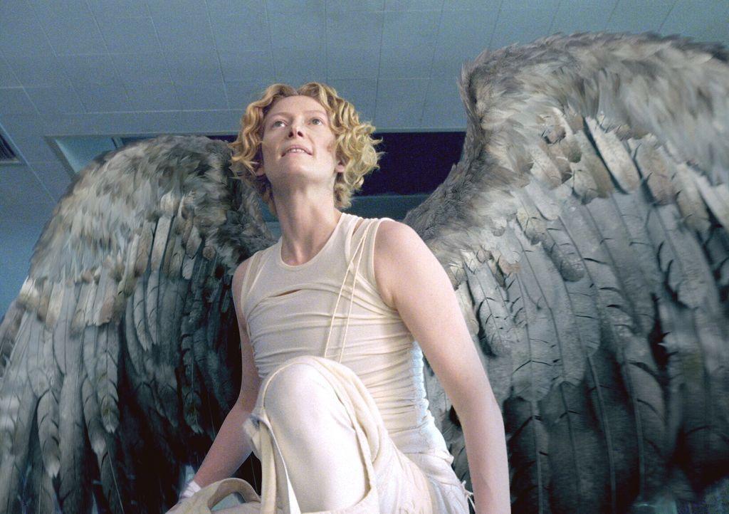 Erzengel Gabriel (Tilda Swinton) ist fest davon überzeugt, dass die Menschheit unwürdig ist, in das Reich Gottes aufzusteigen. Deshalb hat sie mit M... - Bildquelle: Warner Brothers