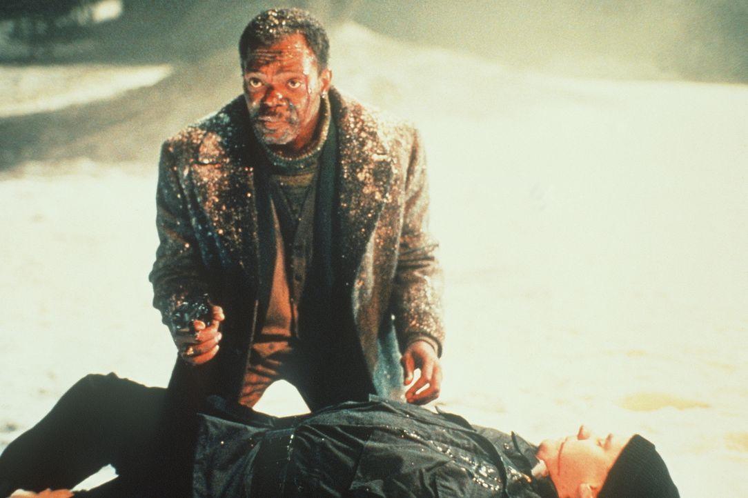 Der Privatdetektiv Mitch Henessey (Samuel L. Jackson, oben) hat auch schon bessere Zeiten gesehen. Durch die schöne Charly wird er in eine gefährlic... - Bildquelle: New Line Cinema