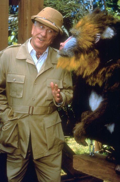 Ahnt nicht, dass sein gegenüber ein Affe ist: der fast blinde Millionär Mr. Magoo (Leslie Nielsen), der sich weigert, eine Brille zu tragen ... - Bildquelle: Walt Disney Pictures
