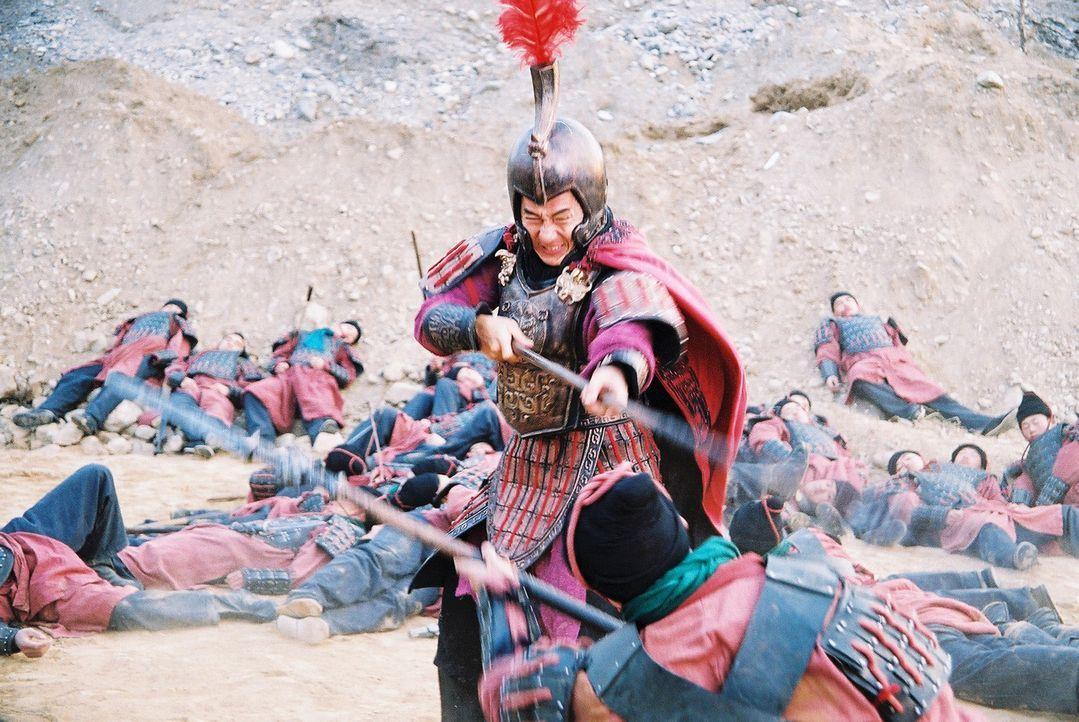 Nimmt es mit allen auf, um seine große Liebe zu beschützen: General Meng Yi (Jackie Chan) ... - Bildquelle: Splendid