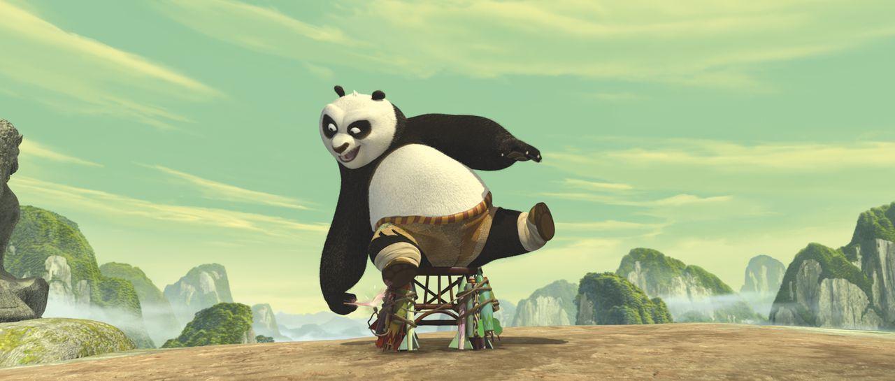 Muss ein Krieger werden: der riesige und ewig hungrige Panda Po ... - Bildquelle: Paramount Pictures