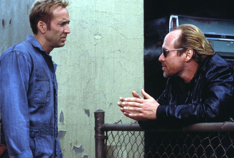 """Eigentlich will der legendäre Autodieb Memphis Raines (Nicholas Cage, l.) nichts weiter, als seinen vorzeitigen """"Ruhestand"""" genießen. Dummerweise... - Bildquelle: Touchstone Pictures"""