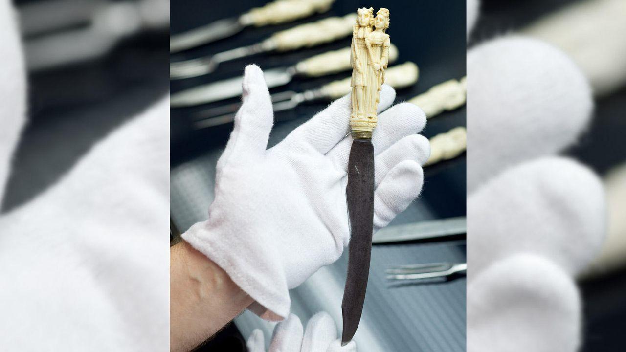 Historisches Messer - Bildquelle: dpa