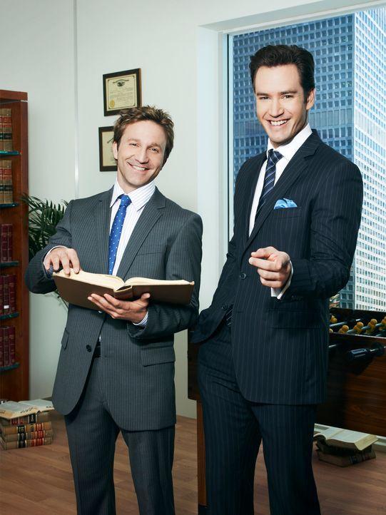 Peter Bash und Jared Franklin - Bildquelle: Sony Pictures Television Inc.