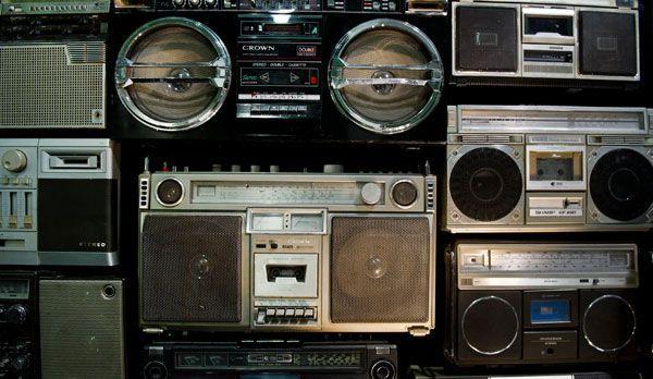 Platz 7: Ghettoblaster - Bildquelle: dpa