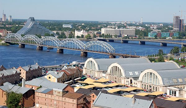 Riga - Bildquelle: dpa