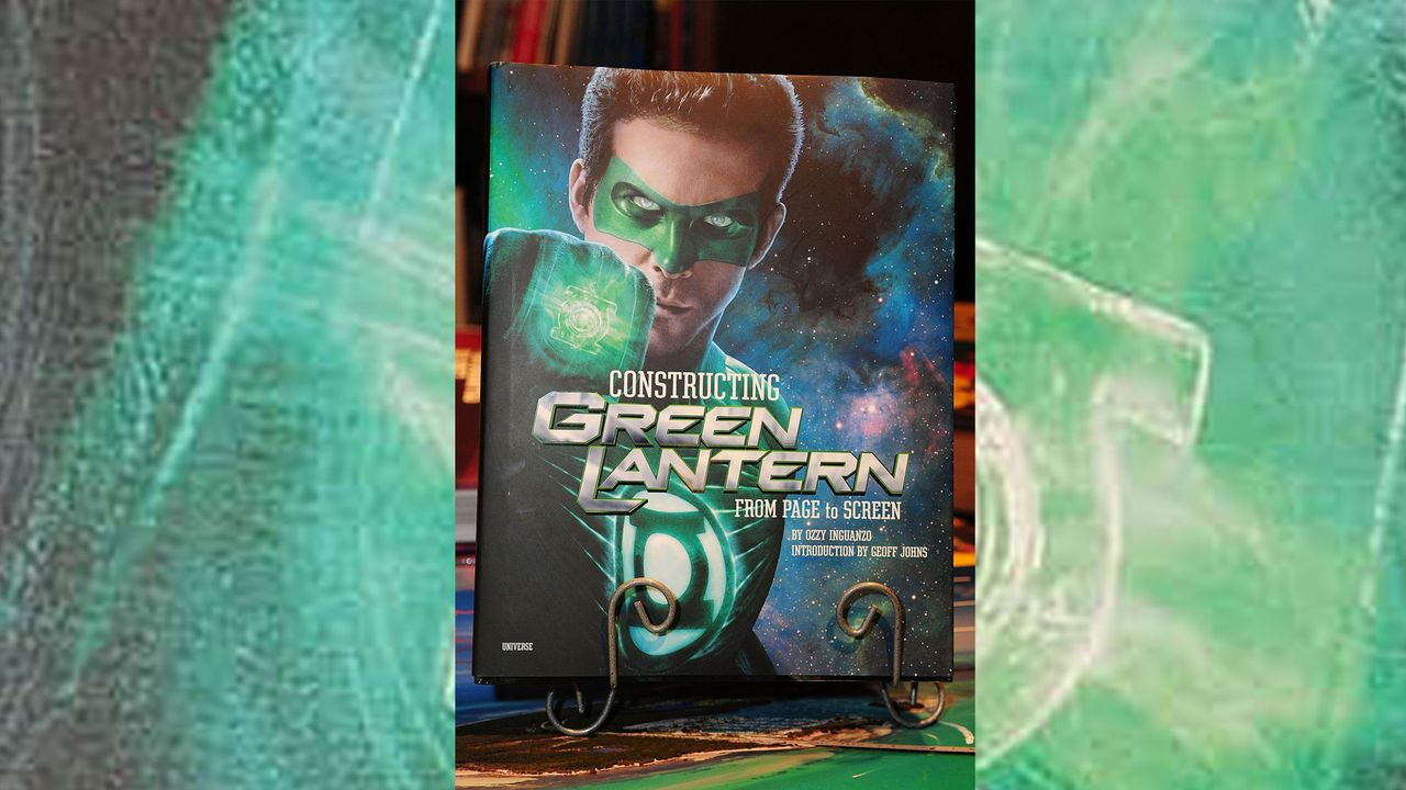 Green-Lantern-Buchcover-Johnny-Louis-WENN-com - Bildquelle: Johnny Louis/WENN.com