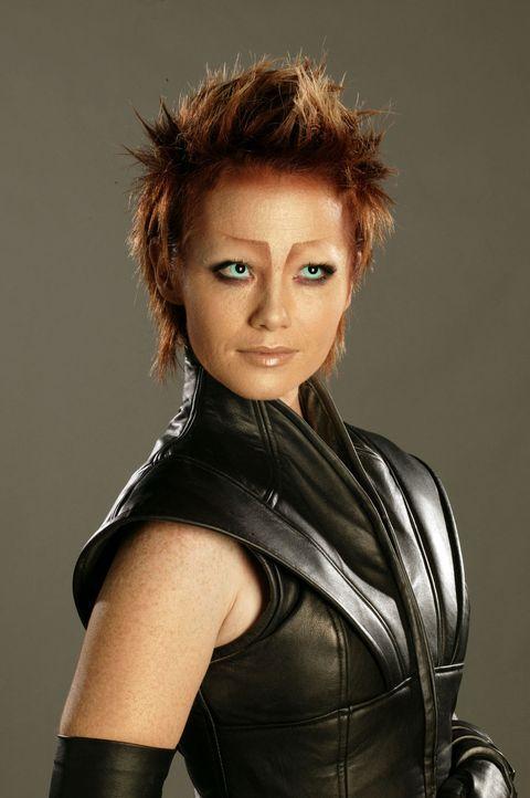 Sie stammt vom Planeten Kalish und hat ein herausragendes Talent für Sprachen: Sikozu Shanu (Raelee Hill) ... - Bildquelle: Hallmark Entertainment