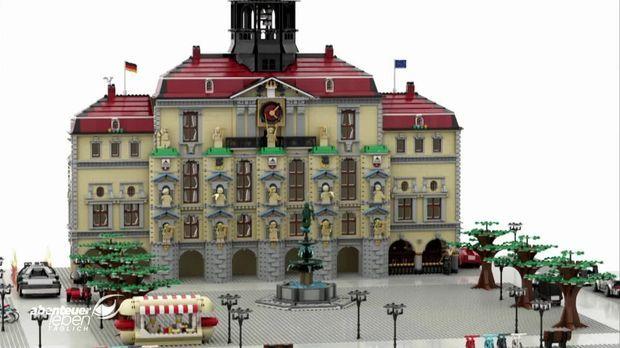 Abenteuer Leben - Abenteuer Leben - Dienstag: Eine Stadt Aus Lego - Benjamin Baut Lüneburg Nach