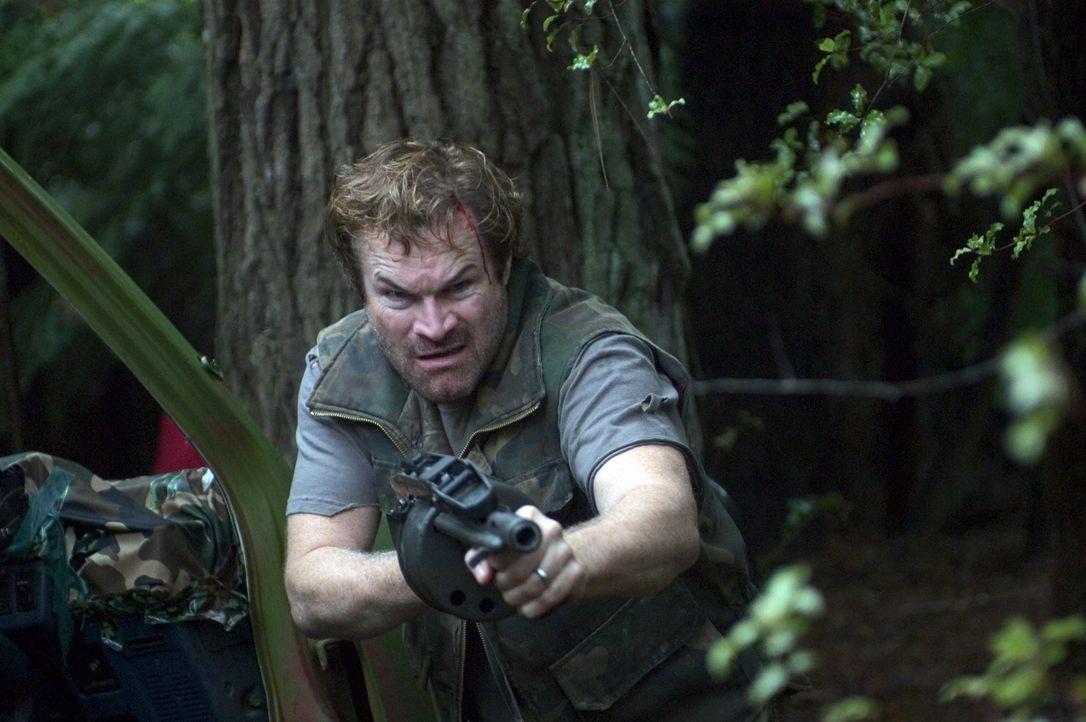 Auf der Flucht vor hemmungslosen Rebellen im südamerikanischen Dschungel: Vizepräsident Walker (David Keith) ... - Bildquelle: Regent Entertainment