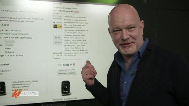 K1 Magazin - K1 Magazin - Thema U. A.: Peter Giesel Testet Gebrauchtwaren Aus Dem Online-handel