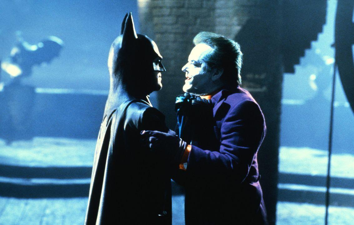 Jack Napier, der ehemalige Vollstrecker des Gangsterbosses Grissom, verliert völlig den Verstand und wird nach einem Säurebad zum teuflischen Joke... - Bildquelle: Warner Bros.
