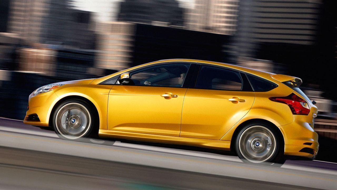Die Sportversion des Ford Focus - Bildquelle: Ford