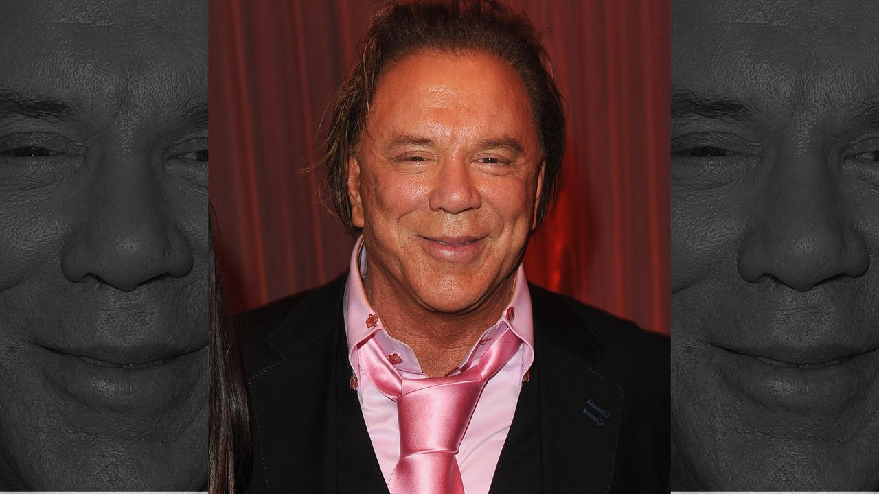 Mickey Rourke - Bildquelle: Getty Images/AFP
