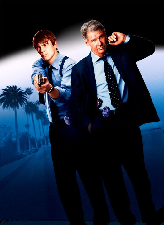 Hollywood Cops mit Josh Hartnett ( l. ) und Harrison Ford (r.) - Bildquelle: 2003 Sony Pictures Television International. All Rights Reserved.