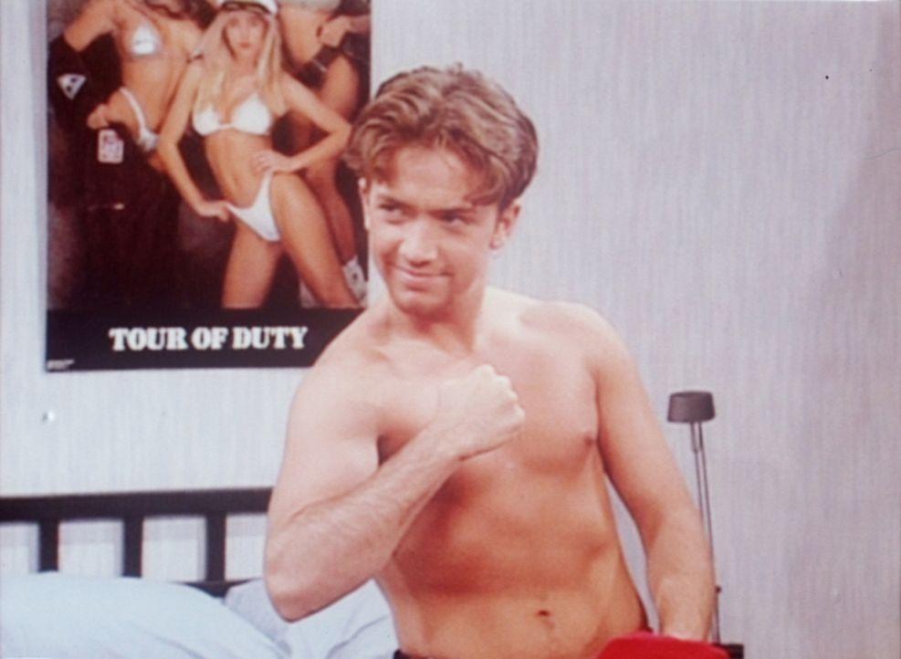 Bud (David Faustino) genießt das Leben in seiner Studentenbude. - Bildquelle: Columbia Pictures