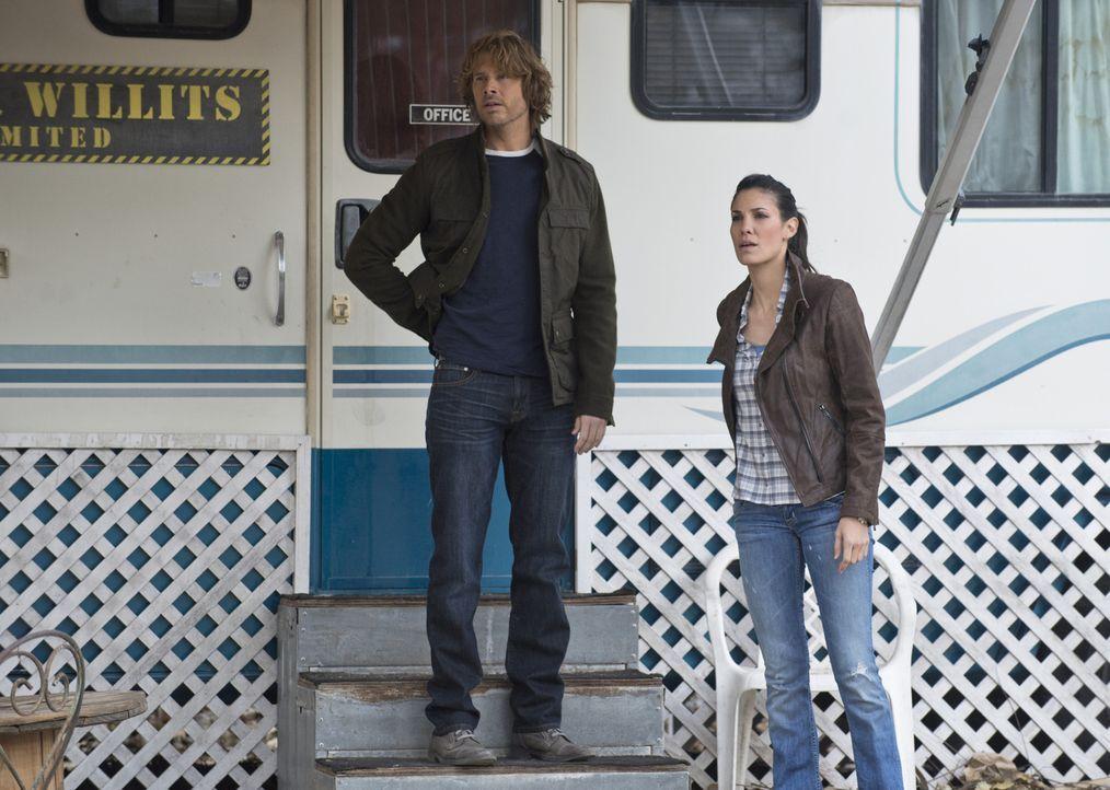 Nachdem Callen und Sam entführt wurden, versuchen Deeks (Eric Christian Olsen, l.) und Kensi (Daniela Ruah, r.) alles, um sie zu befreien. Doch wird... - Bildquelle: CBS Studios Inc. All Rights Reserved.
