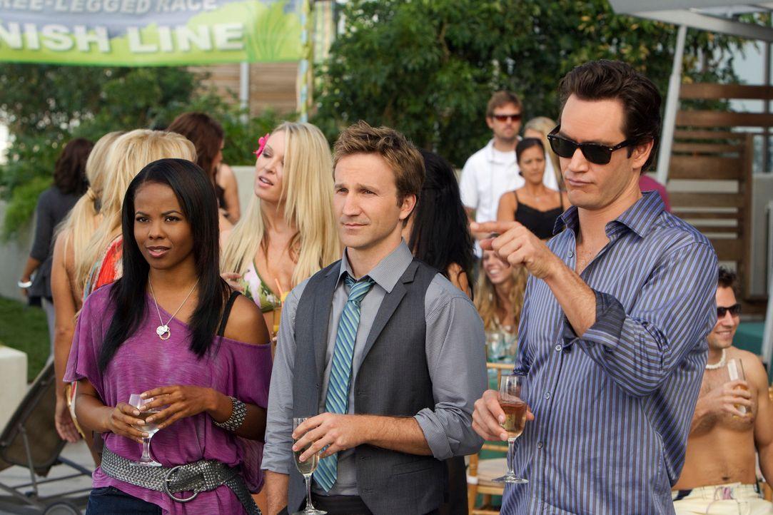 Carmen, Franklin und Bash - Bildquelle: Sony Pictures Television Inc.