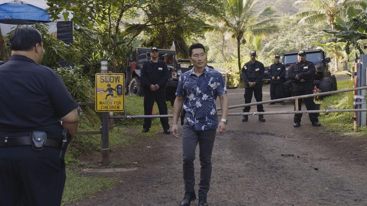 Ein neuer Fall wartet auf Chin (Daniel Dae Kim, M.) und seine Kollegen ... - Bildquelle: 2016 CBS Broadcasting, Inc. All Rights Reserved