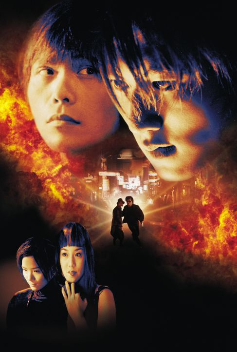 Time and Tide mit Nicholas Tse, hinten r., Wu Bai, vorne r., Cathy Tsui, hinten l. und Candy Lo, vorne l. - Bildquelle: 2003 Sony Pictures Television International. All Rights Reserved.