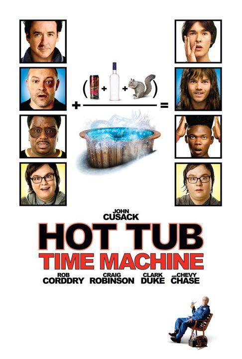HOT TUB - DER WHIRLPOOL... IST NE VERDAMMTE ZEITMASCHINE! - Plakatmotiv - Bildquelle: 2010 Twentieth Century Fox