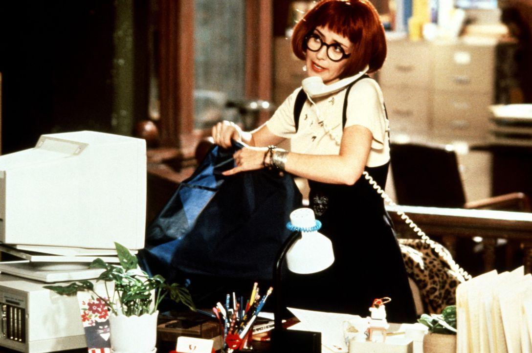 Ohne ihre Sekretärin Janine (Annie Potts) wären die Ghostbuster aufgeschmissen ... - Bildquelle: 1989 Columbia Pictures Industries, Inc. All Rights Reserved.