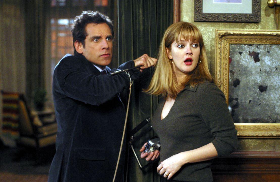 Eines Tages finden Alex (Ben Stiller, l.) und Nancy (Drew Barrymore, r.) mitten in Brooklyn ihr ultimatives Traumhaus. Schön gelegen und liebevoll... - Bildquelle: Michaels Darren Miramax Films.  All Rights Reserved.