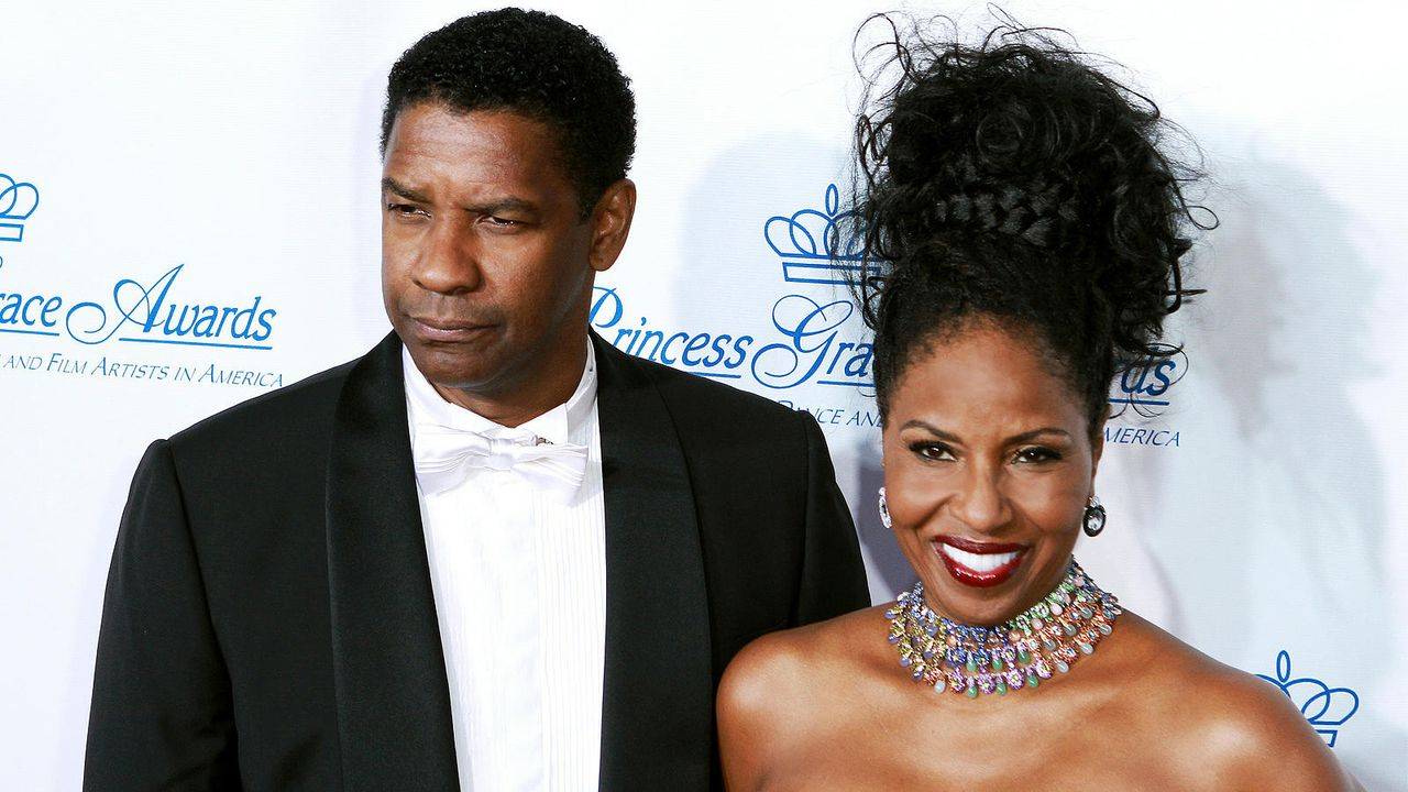 Denzel und Pauletta Washington - Bildquelle: getty-AFP