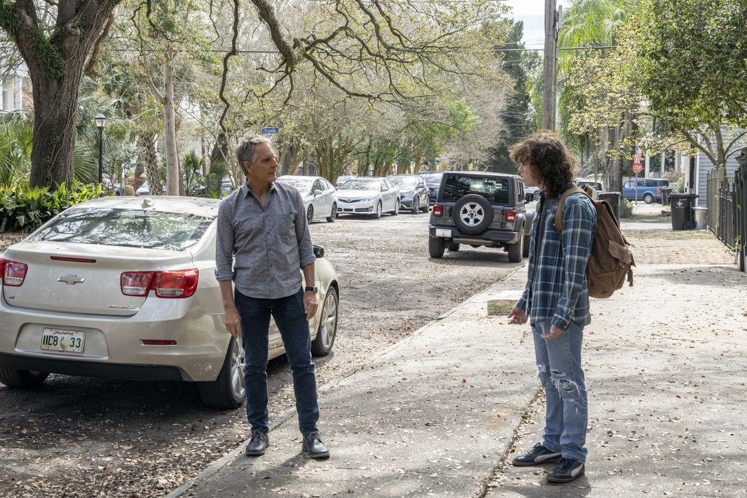 Dwayne Pride (Scott Bakula, l.); Connor Davenport (Drew Scheid, r.) - Bildquelle: Sam Lothridge 2021 CBS Broadcasting Inc. All Rights Reserved. / Sam Lothridge