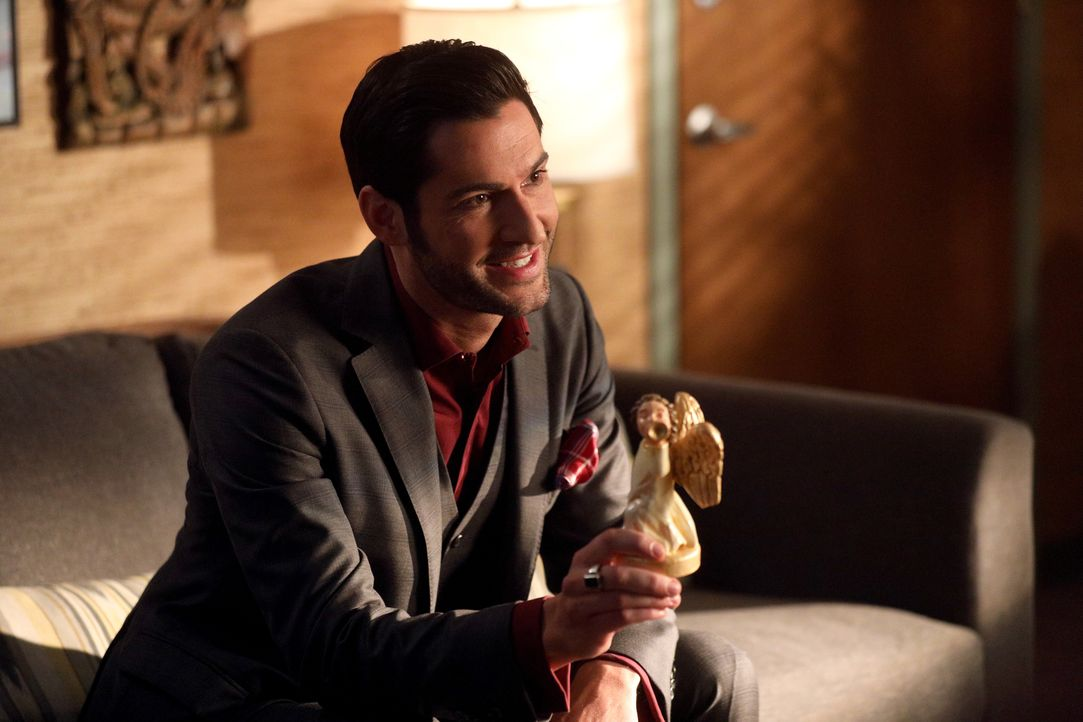 Lucifer (Tom Ellis) - Bildquelle: 2017 Fox Broadcasting Co.