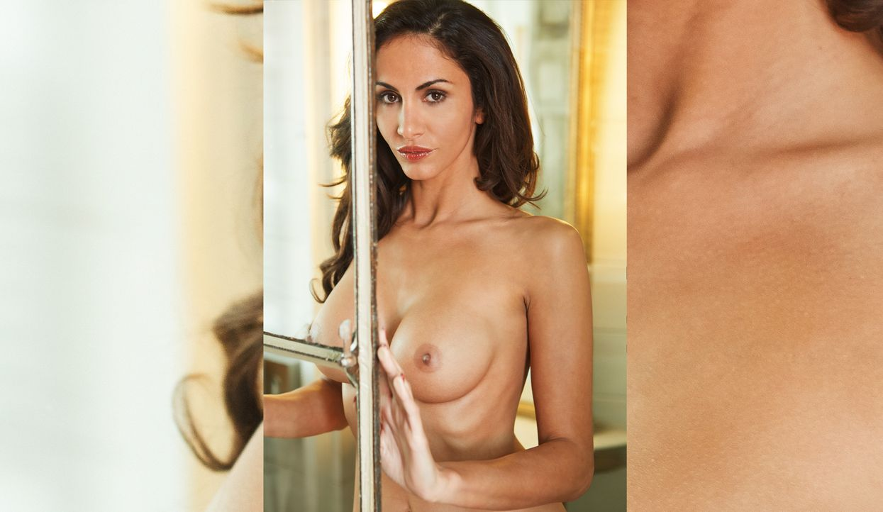 Janina Youssefian - Bildquelle: Marc Collins, Mandarinemedia für Playboy September 2014