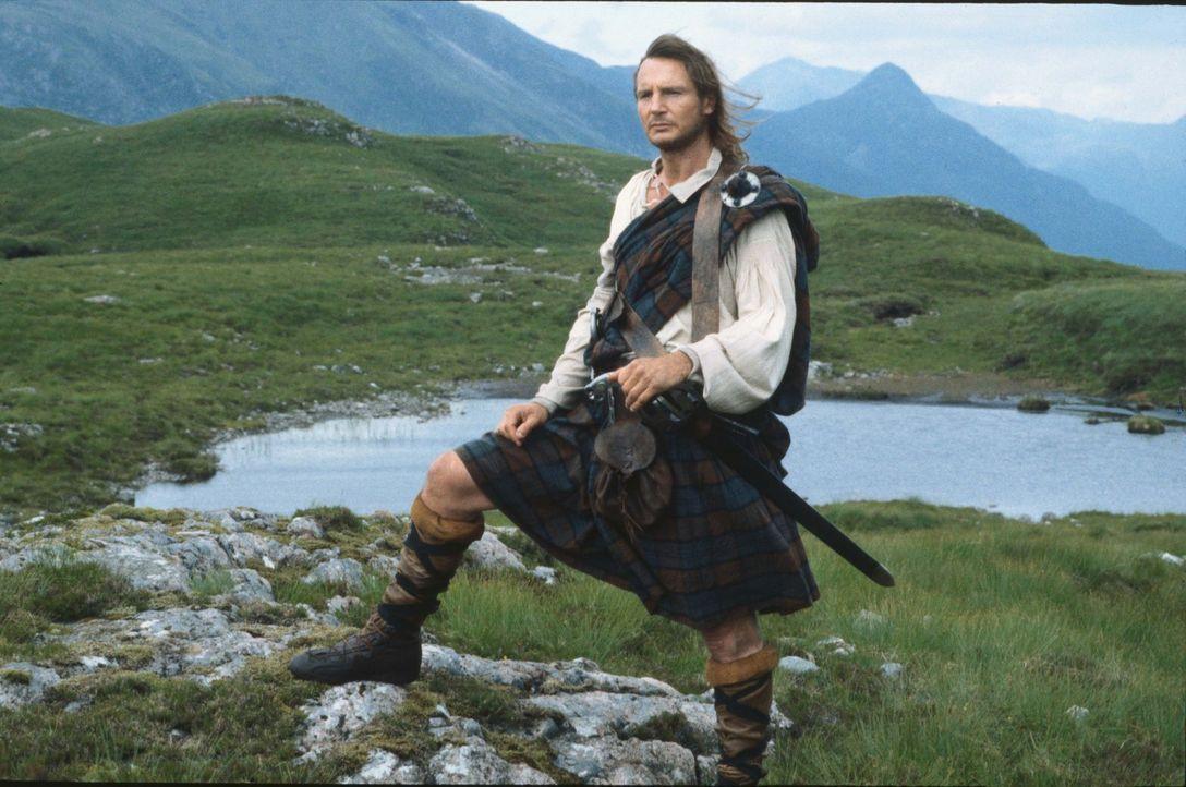 Der schottische Highlander Rob Roy (Liam Neeson) will sich von dem Klan-Marquis Geld borgen, um so über den Winter zu kommen. Doch damit gerät er... - Bildquelle: MGM Home Entertainment