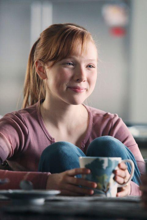 Alexis (Molly C. Quinn) findet es schön, dass Kate vorübergehend bei ihnen einzieht. - Bildquelle: ABC Studios