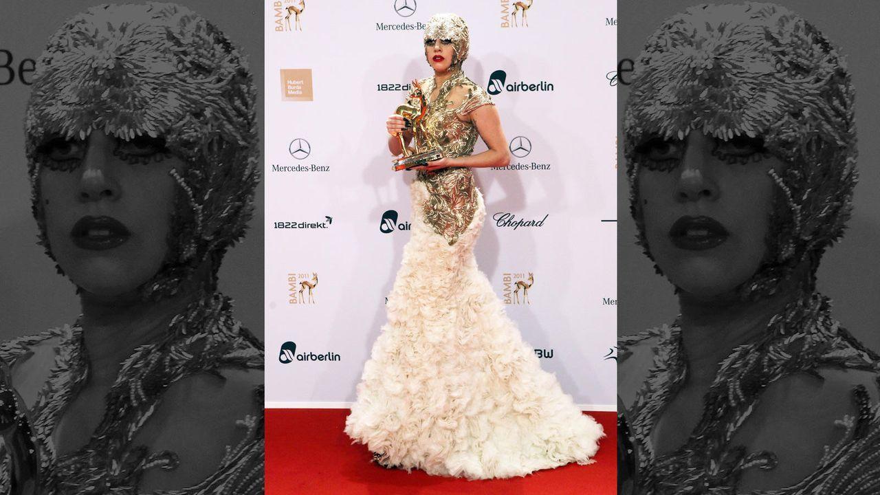 Lady Gagas Outfit-Desaster - Bildquelle: AFP