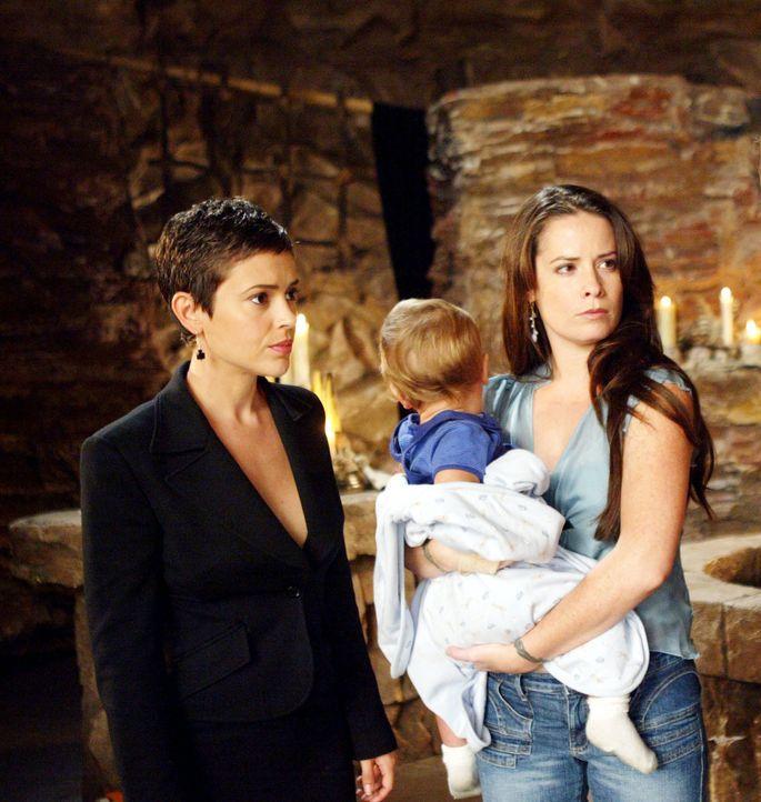 Phoebe (Alyssa Milano, l.), Piper (Holly Marie Combs, r.) und Paige  wollen eine Pause, doch Chris hingegen will ständig Dämonen jagen. Da sich die... - Bildquelle: Paramount Pictures.