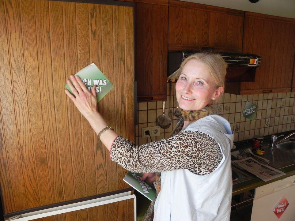 In Gertruds Wohnung sind vor 20 Jahren die Uhren stehengeblieben. Es wird Zeit, dass hier etwas passiert ... - Bildquelle: kabel eins