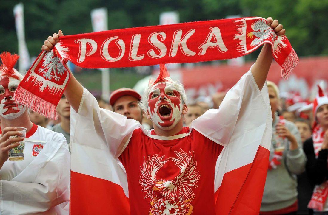 Fußball-Fan-Polen-120608-dpa - Bildquelle: dpa
