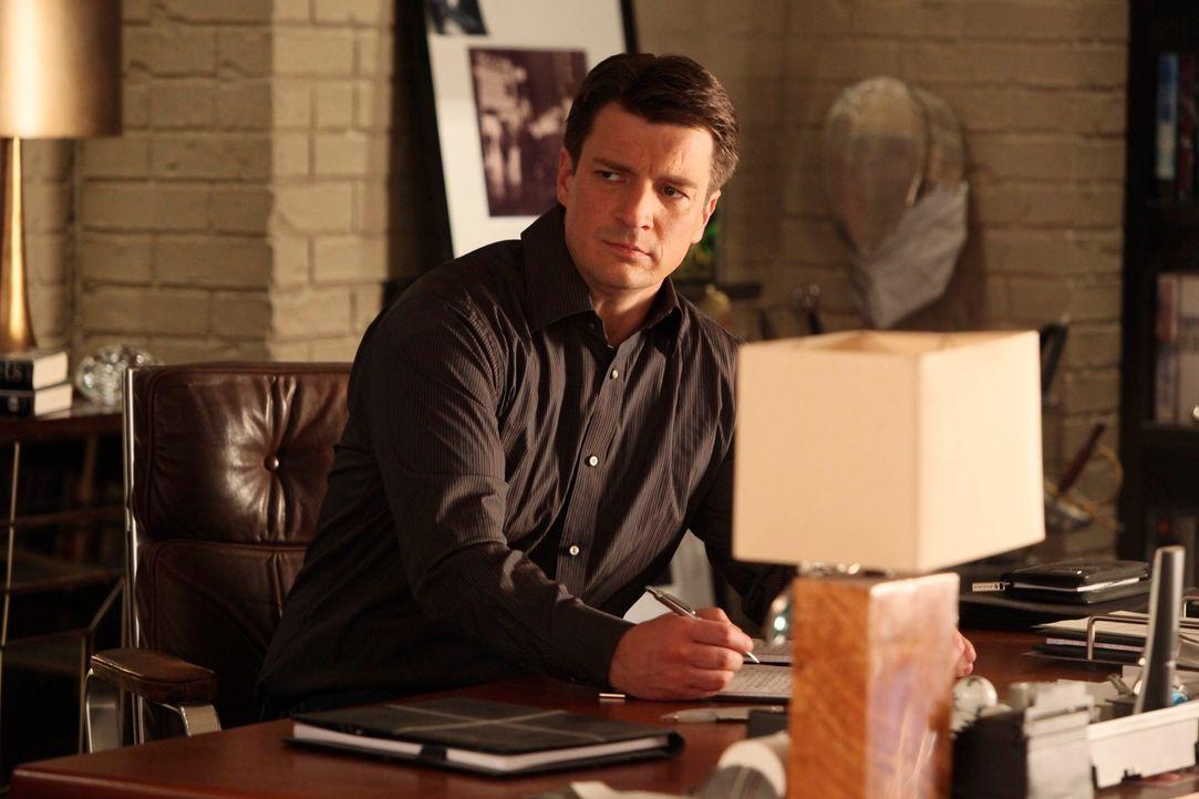 Im Laufe der Ermittlungen stößt Castle (Nathan Fillion) auf mehrere Skandale, Drohungen und Intrigen im Leben des reichen Promis Bobby Mann, der off... - Bildquelle: ABC Studios
