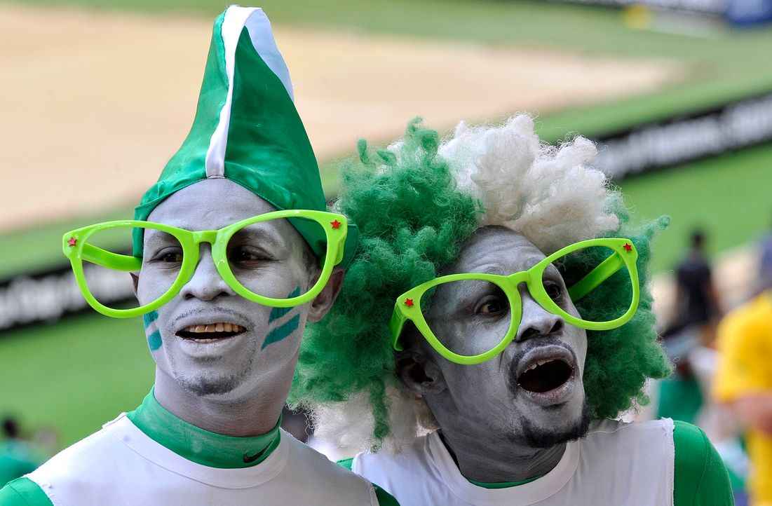WM-Brasilien-Nigeria-Fans-Brillen-Alexander-Joe-AFP - Bildquelle: Alexander Joe/AFP