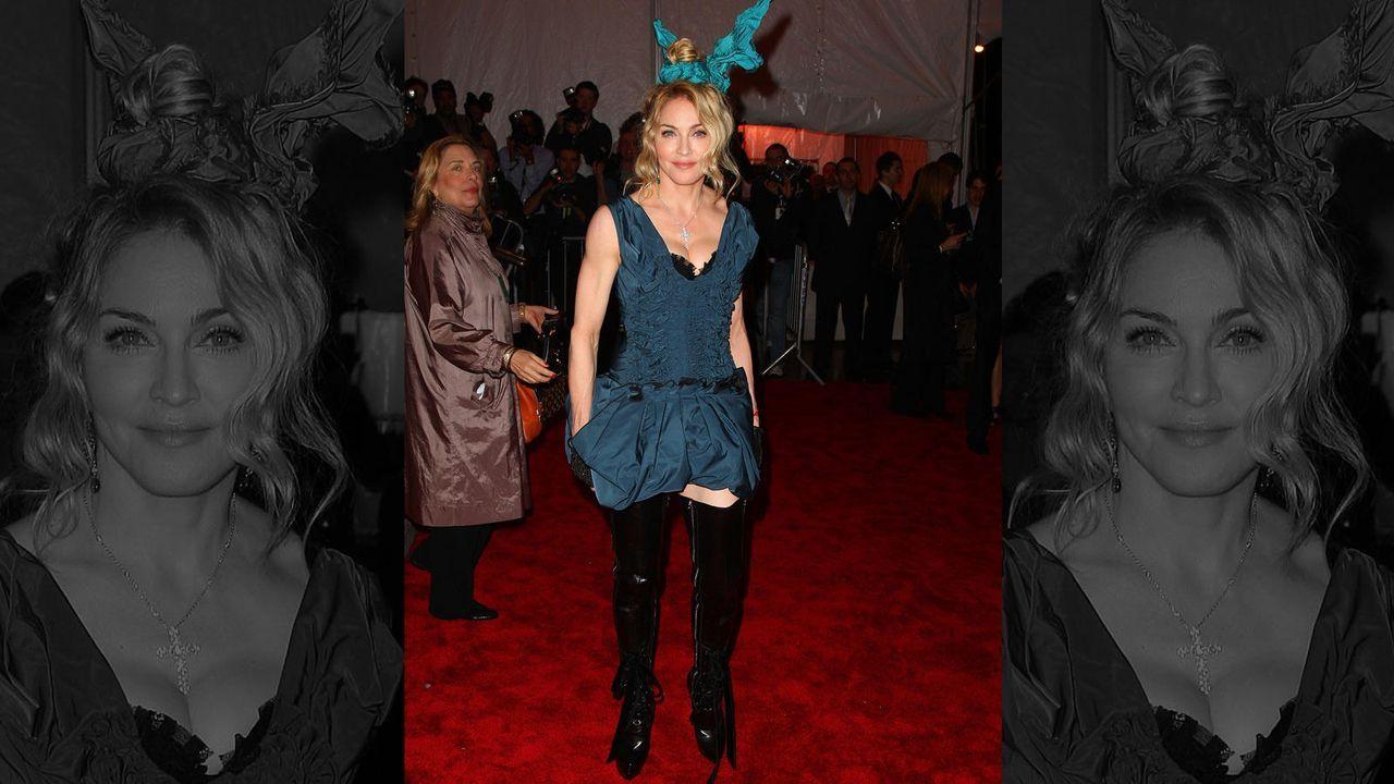 Madonna im fragwürdigen Outfit - Bildquelle: getty-AFP