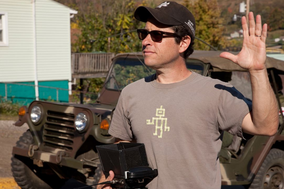 J.J. Abrams am Set von SUPER 8 - Bildquelle: PARAMOUNT PICTURES. All Rights Reserved