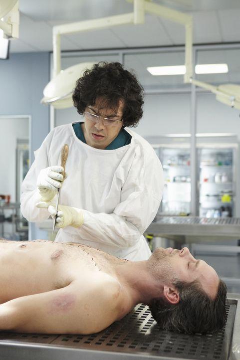 Unterstützt Megan bei der Aufklärung von einem neuen Mordfall: Ethan (Geoffrey Arend) ... - Bildquelle: ABC Studios