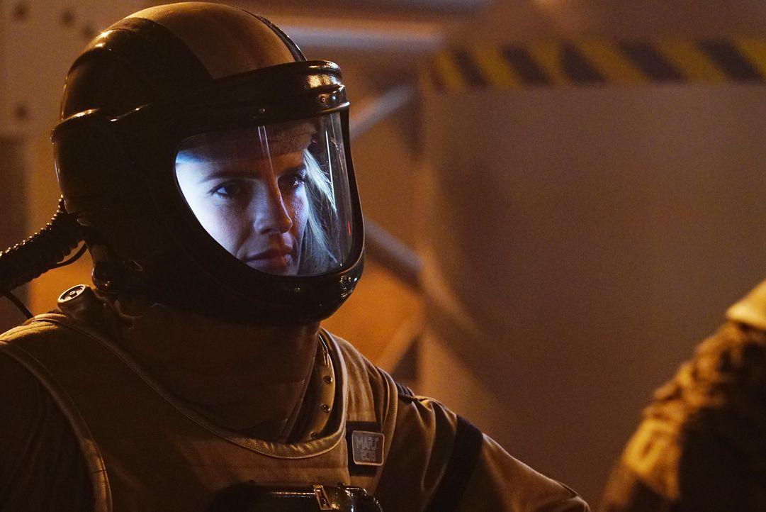 Wo soll Kate (Stana Katic) jetzt noch nach Richwoods Mörder suchen? Niemand von außen kann unbemerkt auf das Simulationsgelände, alle Crewmitglieder... - Bildquelle: Richard Cartwright ABC Studios