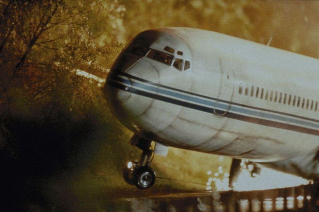 Bei einem Flugzeugabsturz überlebt der straffällige Mark Sheridan und kann fliehen. Fortan ist ihm der unbarmherzige Marshall Samuel Gerard auf der... - Bildquelle: Warner Bros.