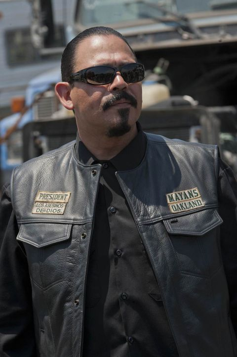 Mit Alvarez (Emilio Rivera), dem Boss der Mayans, ist nicht zu spaßen ... - Bildquelle: 2011 Twentieth Century Fox Film Corporation and Bluebush Productions, LLC. All rights reserved.