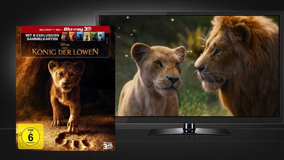 Der König der Löwen 2019 (3D Blu-ray Disc) - Bildquelle: Walt Disney Studios