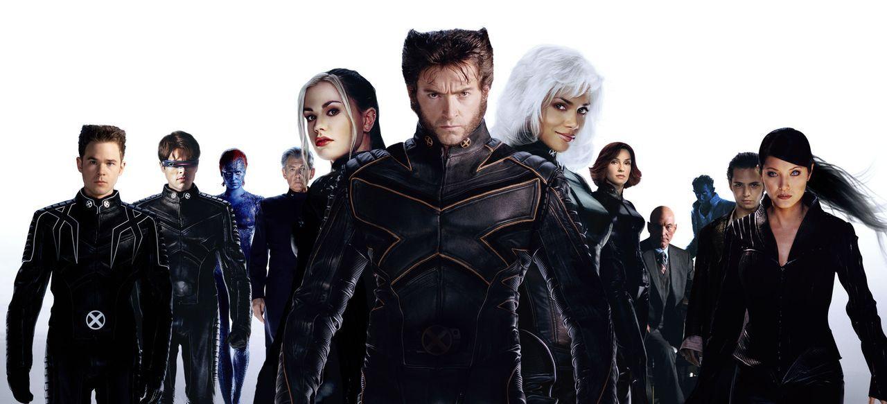 Ist ein friedliches Zusammenleben zwischen Menschen und Mutanten wirklich möglich? (v.l.n.r.) Iceman (Shawn Ashmore), Cyclops (James Marsden), Mysti... - Bildquelle: 20th Century Fox International Television