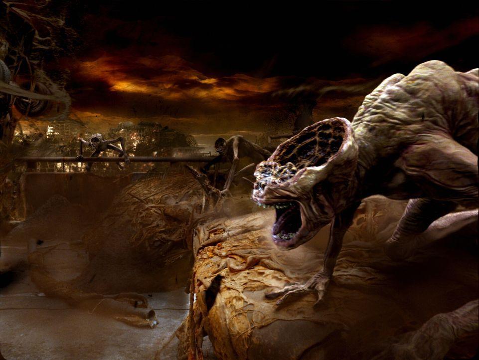 Ein Blick in die Hölle: Nach einem Selbstmordversuch landete John Constantine in der Hölle, wurde dann allerdings wiederbelebt. Nach dieser Erfahrun... - Bildquelle: Warner Brothers